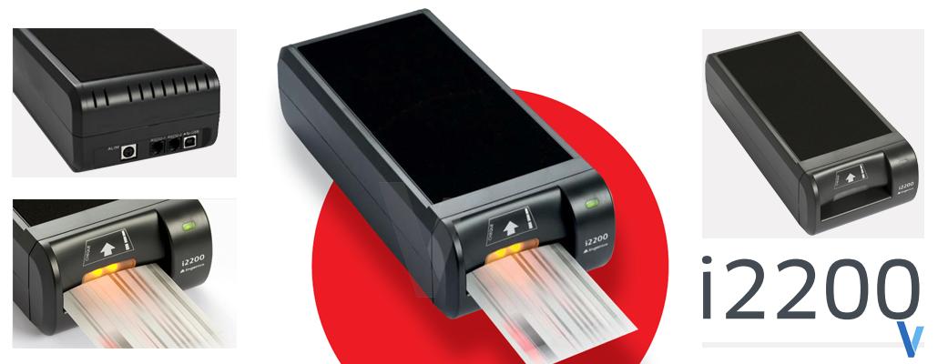 Lecteur de chèques i2200 Ingenico avec logiciel chèque