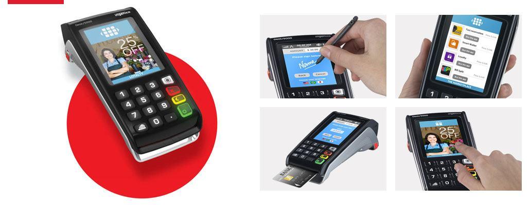 Ingenico terminal de paiement Desk-5000