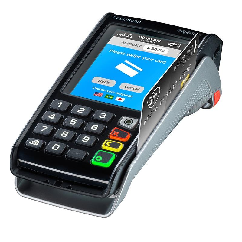 Ingenico terminal de paiement desk 5000 sans contact 2ls for Protexiom 5000 rtc