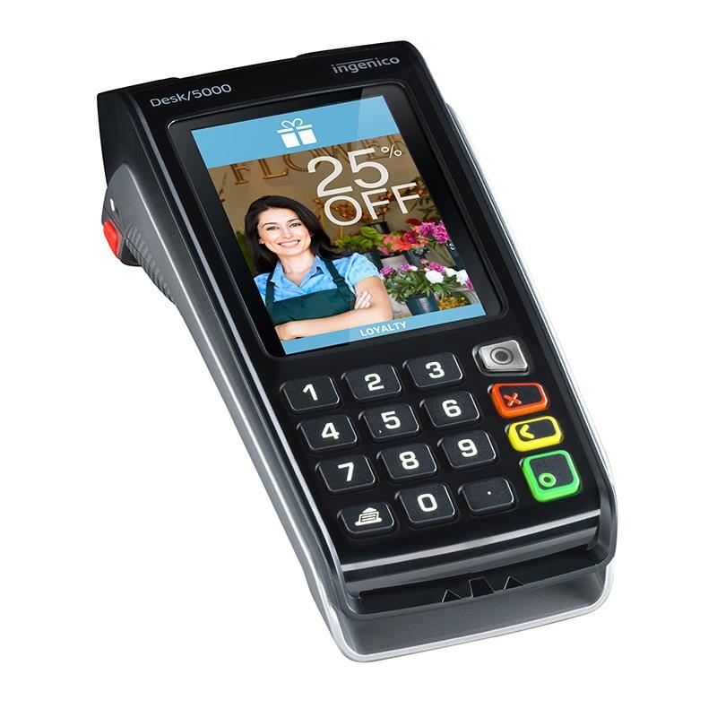 Ingenico terminal de paiement desk 5000 sans contact rtc for Protexiom 5000 rtc