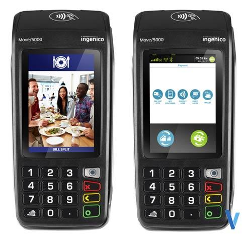 terminal de paiement ingenico move 5000 BEM 3g-gprs WIFI sans-contact