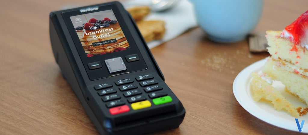 terminal de paiement verifone v200c - TPE Internet-fixe couleur sans-contact-imprimante