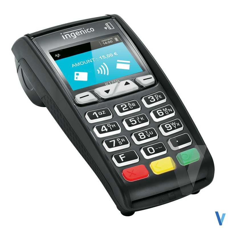terminal de paiement ict250 ingenico sans contact 2ls v3