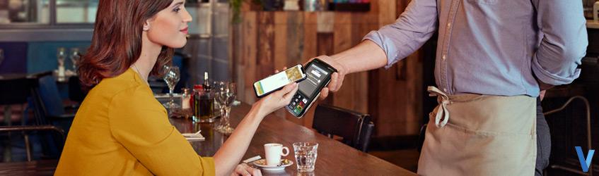 terminal de paiement portable sans-fil Wifi/Bluetooth