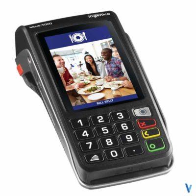 terminal carte bancaire ingenico move 5000 bluetooth 2ls sans contact socle modem rtc ip bem