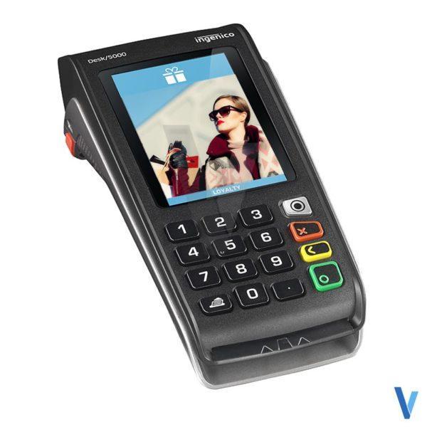 lecteur carte bancaire desk 5000 3g gprs wifi sans-contact rtc-ip