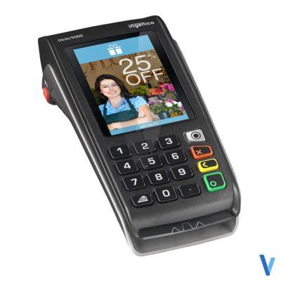 machine carte bancaire desk 5000 3g gprs sans contact RTC / IP