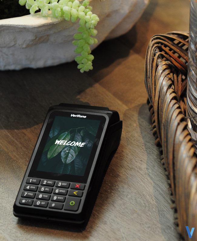 verifone terminal cb mobile sans-contact internet wifi bt