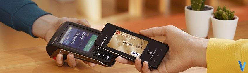 terminal de paiement mobile et le paiement sans contact